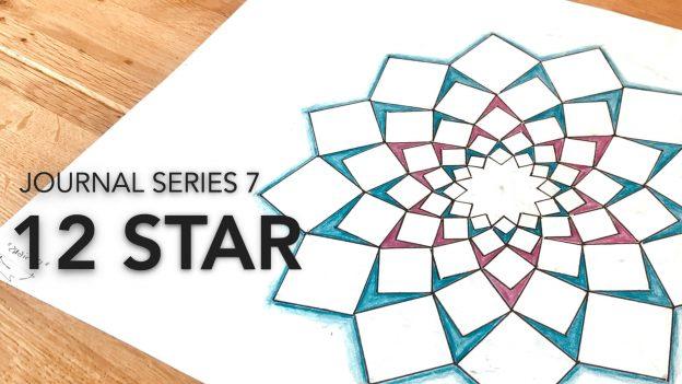 Journal 7 - 12 Star Rose